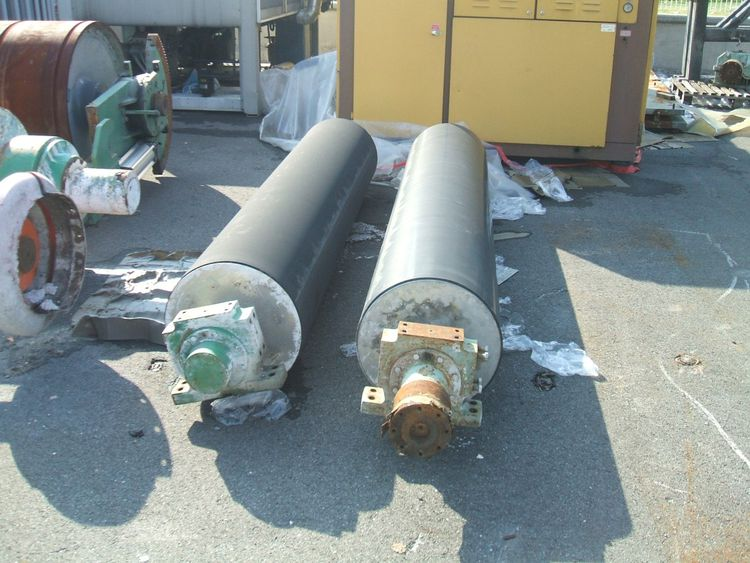 2 Others Rubber Covered Roll, face 3400 mm