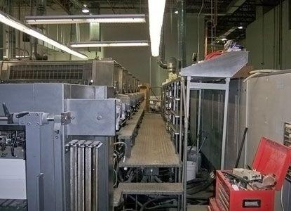 Heidelberg CD 102 6 LX, 6 Colors Offset Machine Max. 72 x 102 cm