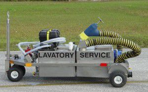 Lavatory Service Cart