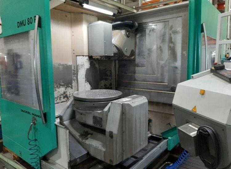 Deckel Maho DMG DMU 80 P 8000 U/min/rpm