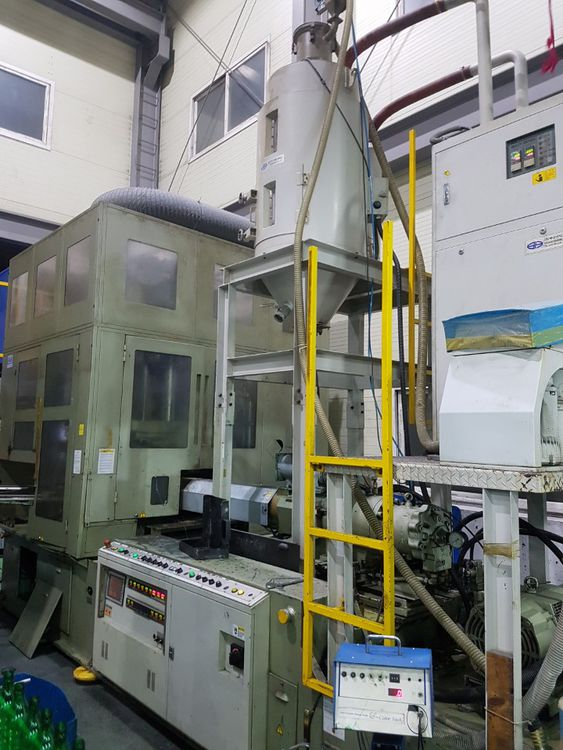 Aoki SBIII 350LL-40 INJECTION STRETCH BLOW MOULDING MACHINE