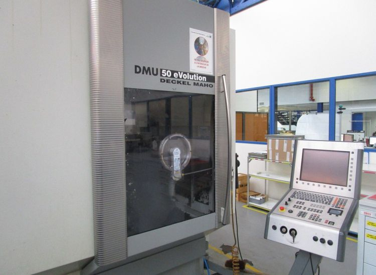 Deckel Maho, DMG DECKEL MAHO DMG DMU 50 EVO linear 5-axis 5 Axis