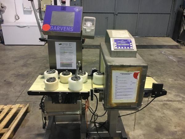 Garvens Checkweigher Metal Detector