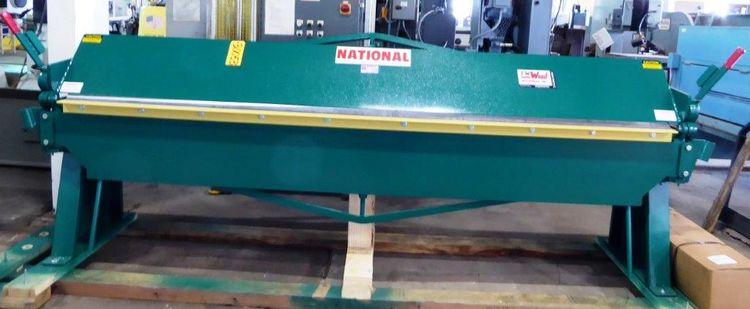 National N12016 Capacity, Mild Steel: 16 Gauge