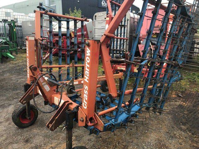 4.5m Hydraulic Folding Grass Harrow