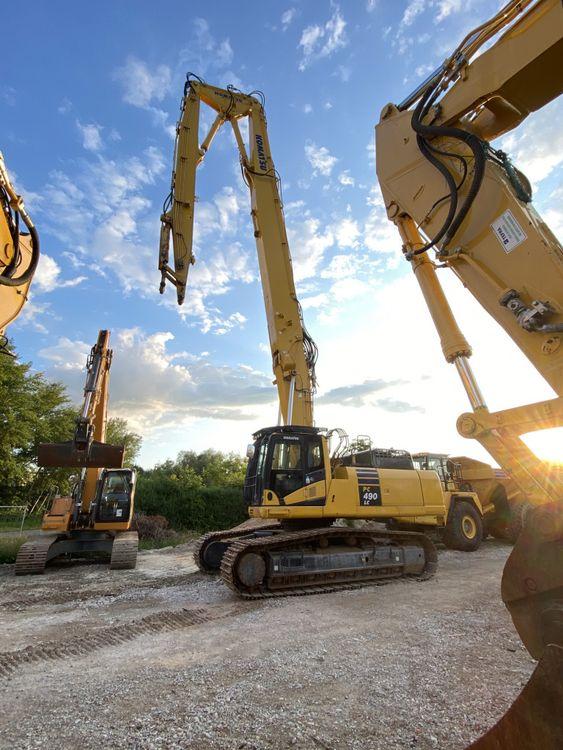 Caterpillar PC 490LC-10 HRD Ultra High Reach Excavators