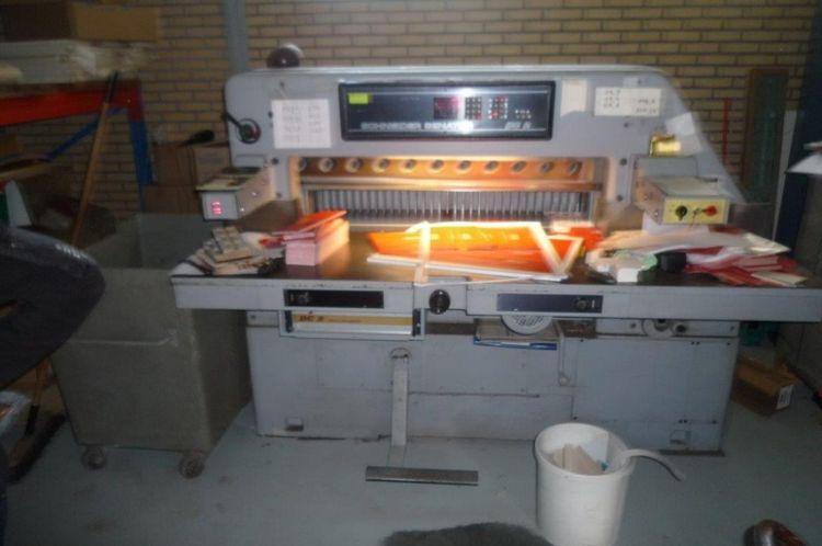 Schneider 115 cm, Cutting machine