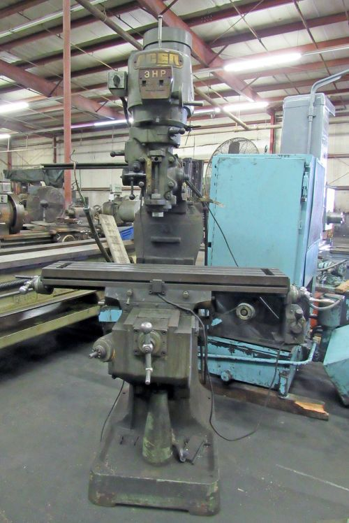 """Acer 9"""" X 42"""" Vertical Milling Machine Variable"""
