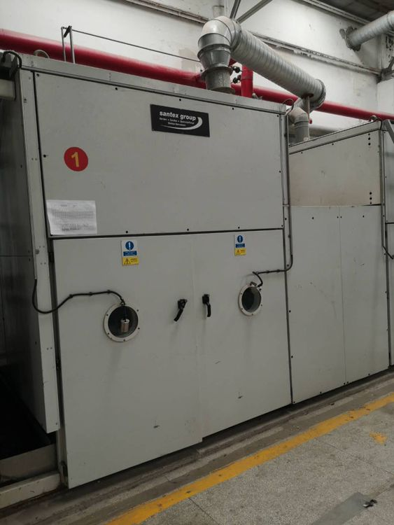 Santex Santasoft 200 Cm open-width drying /softening machine