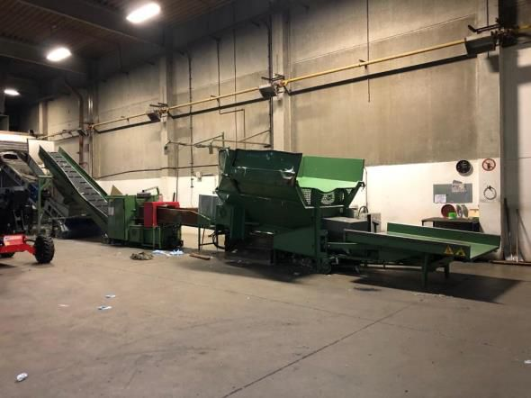 Pierret CT.60 guillotine cutter, yoc: 2013, ww: 600 mm, with 1 Pierret robot loader
