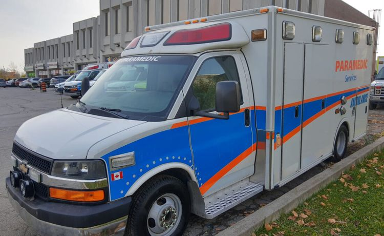 Chevrolet Express Gasoline Ambulance