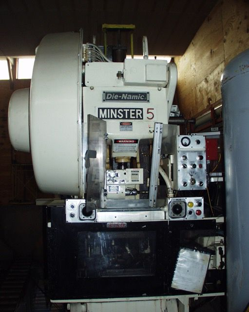 Minster 5 Die Namic 45 Ton