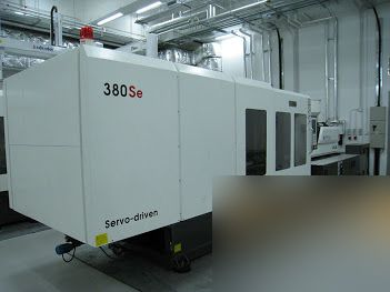 Welltec TTI-380SE, PLASTIC INJECTION MOULDING MACHINE 380 Ton