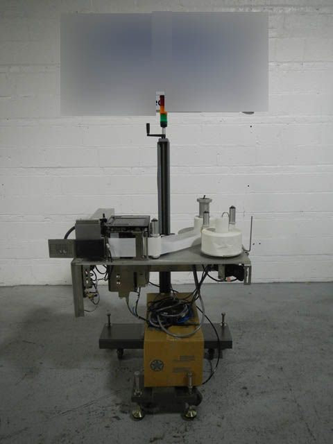 New Jersey 400R PRINT AND APPLY LABELER