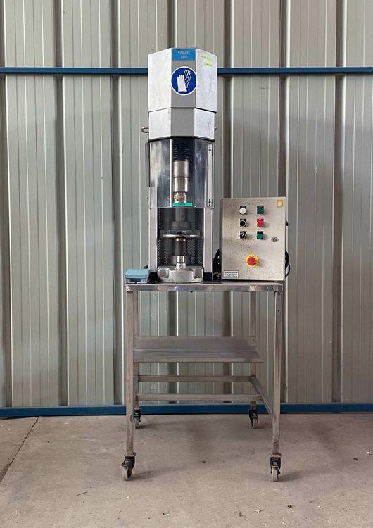 Zalkin TM3 SEMI-AUTOMATIC CAPPING MACHINE