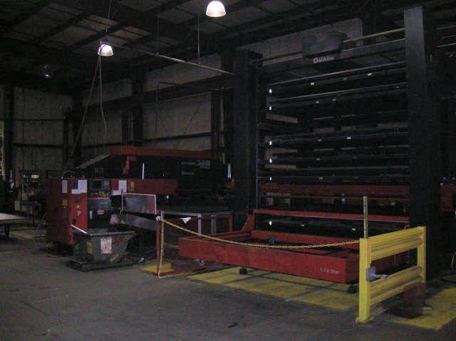Amada Vipros 368 King II CNC w/ AS651H Load/Unload 6 Shelf Tower