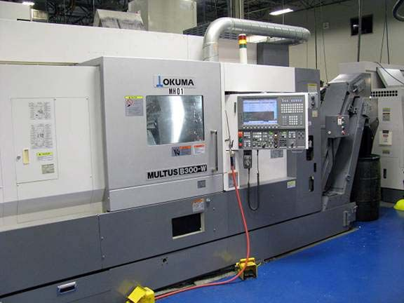 Okuma OKUMA OSP P200 CNC Contol with THiNC ADMAC Parts software Variable Multus B300W 6 Axis