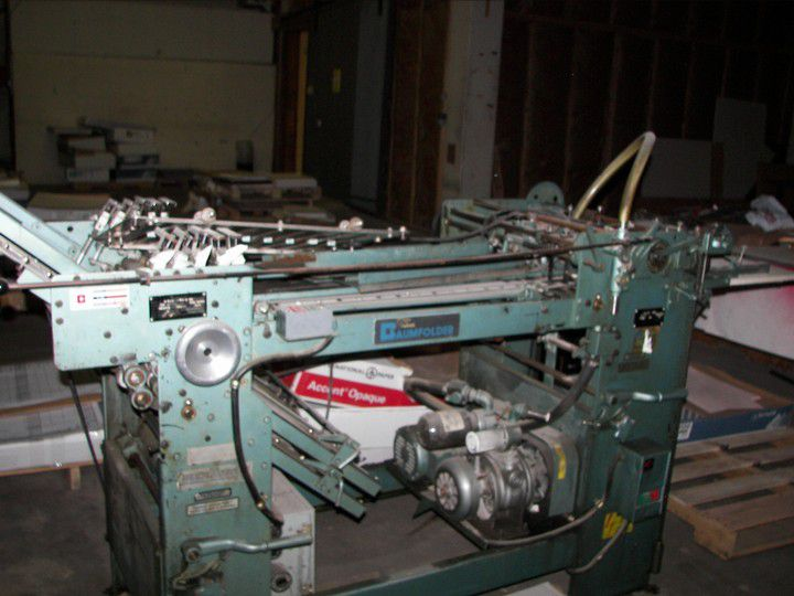 Baum 2026, Folding machine