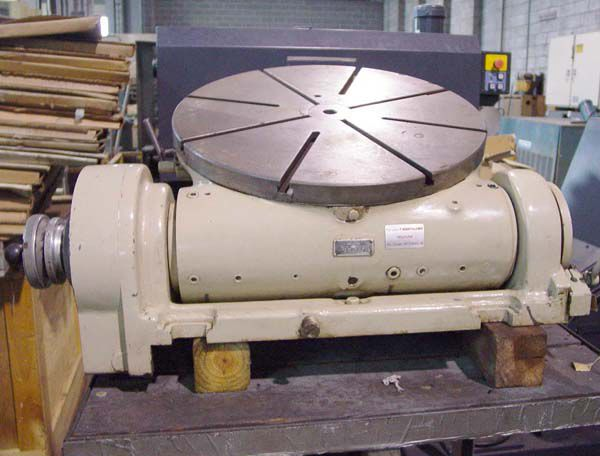 Pratt & Whitney M1896, Precision Tilting Power Rotary Table
