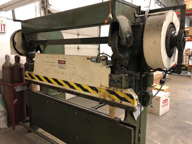 Verson 8 ft Mechanical Press Brake 45 Ton