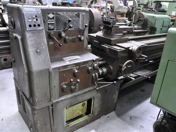 Titan Engine Lathe 1250 rpm Ø 600 x 3000 mm