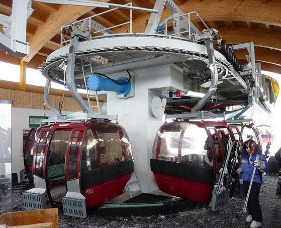 Doppelmayr Gondola 8 seats