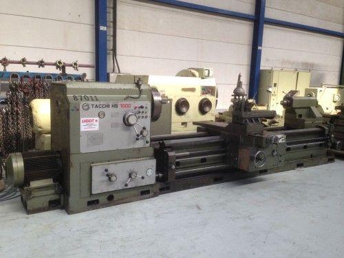Tacchi Engine Lathe 1000 (12X) HS1000