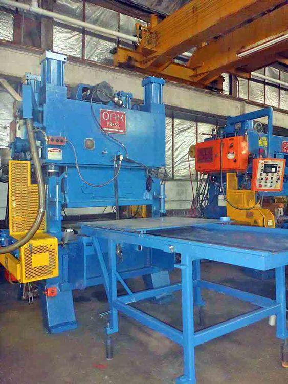 OAK Fin Press Line 100 Ton
