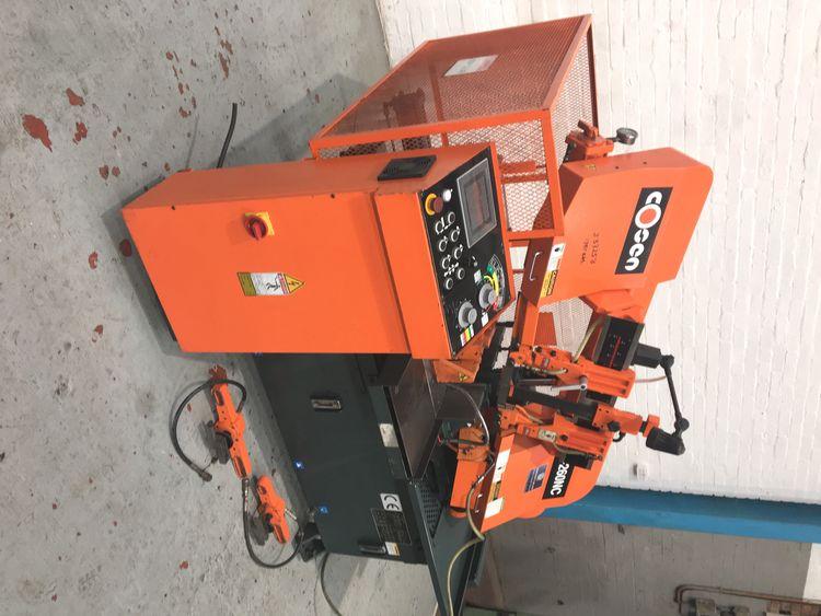 Cosen C-260 NC Horizontal Hydraulic Bandsaw semi automatic