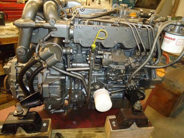 Yanmar 4JH2-DTE YANMAR 4JH2-DTE MARINE ENGINE 65HP