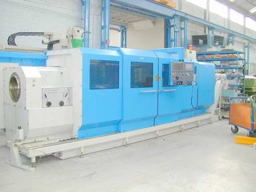 Mondiale Fanuc 21i Max. 350 rpm MN 80/380 CNC Oil Country Lathe 2 Axis