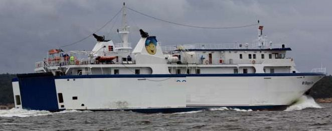 Panagiotakis Day Passenger And Car Ferry Pax: 387 Cars: 90