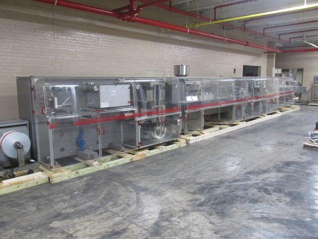 KLOCKNER CP1200 Blister Packaging Line