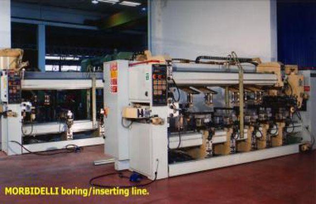 Morbidelli CN3 / A - CN3 / B, Electronic drilling line