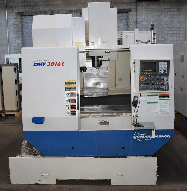 Daewoo DMV-3016L CNC VERTICAL MACHINING CENTER 3 Axis