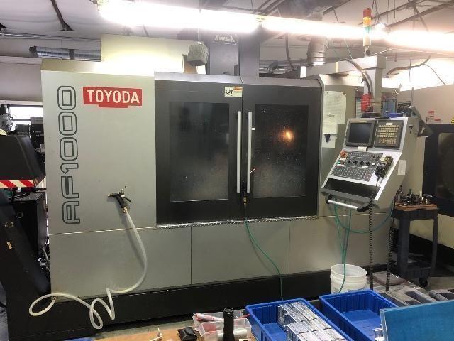 Toyoda Fanuc 18i-MB CNC control 12000 RPM AF 1000 2 Axis