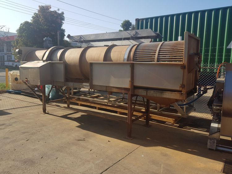 Ausmade 900X5000 Rotating Drum Washer for Potatoes