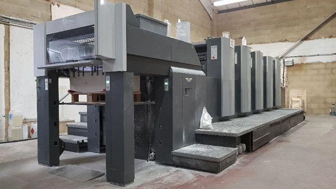 Heidelberg SX74-5 20 x 29 inch