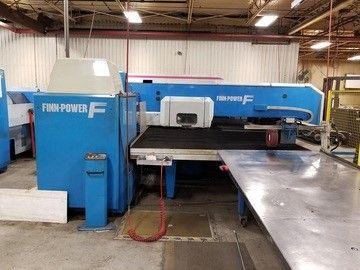 Finn Power Finn-Power CNC Turret Punch Press F5-25-FB 22 Ton