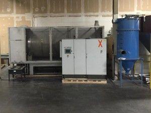 Novatec IRD-3000, Infrared Rotary PET Dryer/Crystallizer