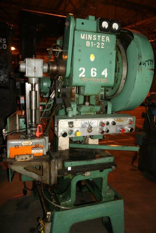 Minster B1-22 Max. 22 Ton