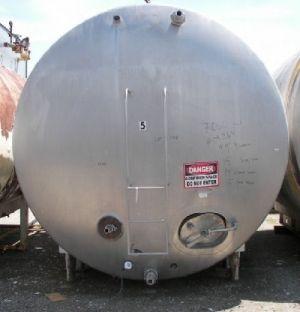 Mueller 7,000 Gallon Jacketed Horizontal Tank Jacketed Horizontal Tank 7,000 Gallon