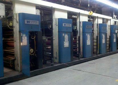 Heidelberg M1000B. Web Press Machine