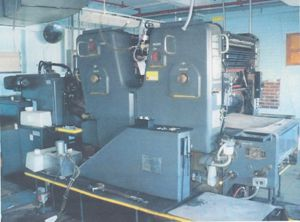 Heidelberg Sorkz, Offset 2 Colours Press Machine 19.5 x 25