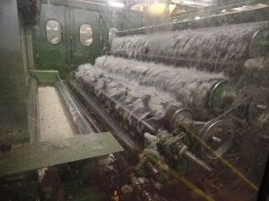 Hdb High Production Carding and Spinning line for Wool Carpet Yarn