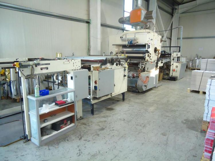Billhofer CKM 1200 Laminating, Coating Machine
