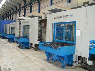 Burkhardt & Weber MC 60 4 Axis, Horizontal Machine Center