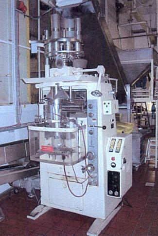 Rovema Vertical Bag Form, Fill and sealing machine