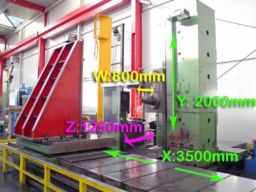 TOS WHN 13 CNC  Variable