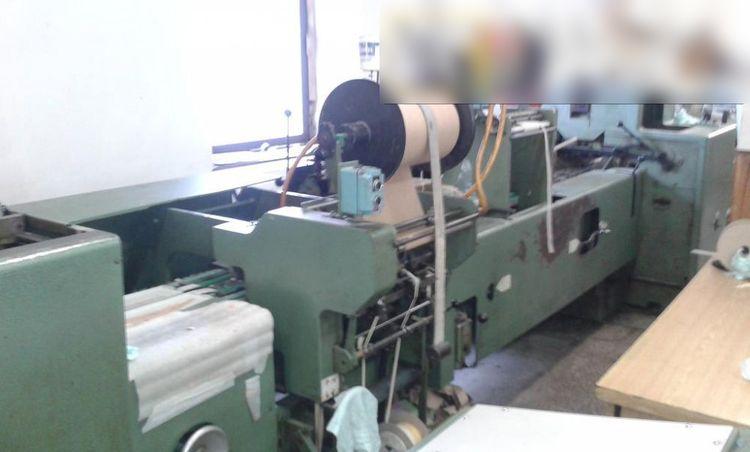 Kolbus BF 98, Casing-in machine